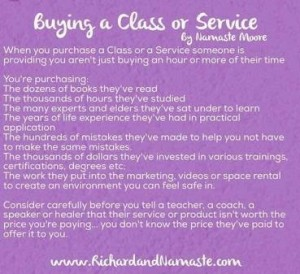 buying a service