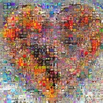 mosaic of heart